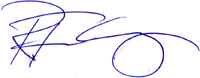 General Manager Furlong Signature
